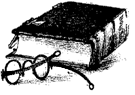 Image of an old, leather-bound book.